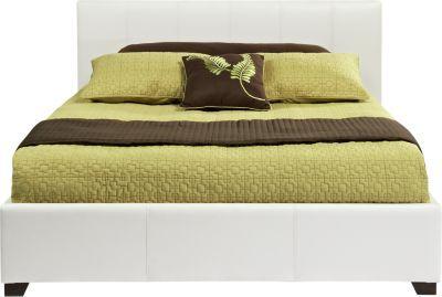 Belfair White 3 Pc Queen Bed