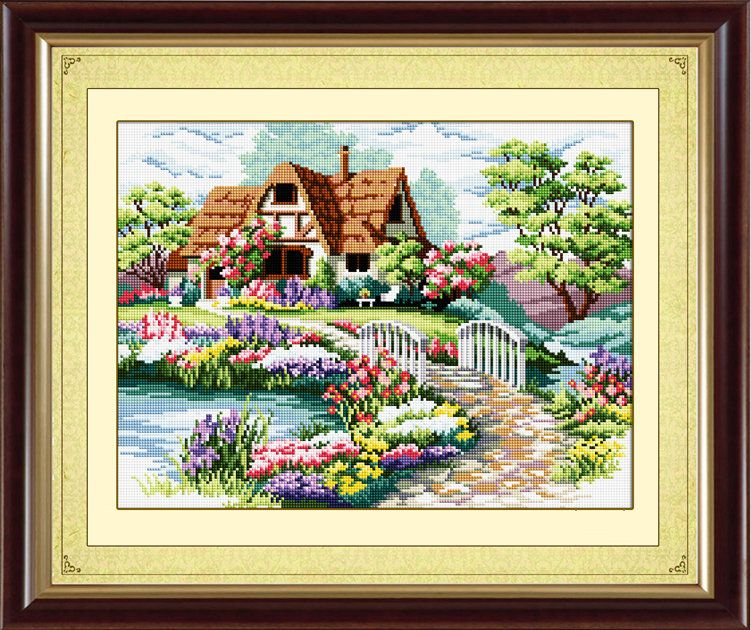 Full Drill Landscape Art 5D Diamond Painting Cross Stitch Embroidery Decor Sets