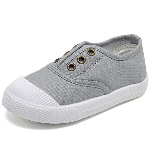 c55001043e0a CIOR Kids Canvas Sneaker Slip-on Baby Boys Girls Casual F... https ...