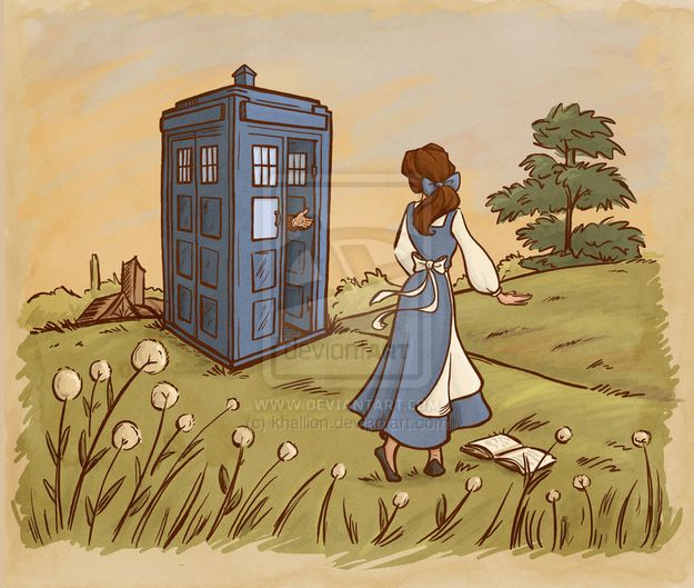 "10 Disney Heroines Chosen To Be ""Doctor Who"" Companions"