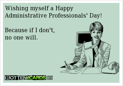 happy administrative assistant day