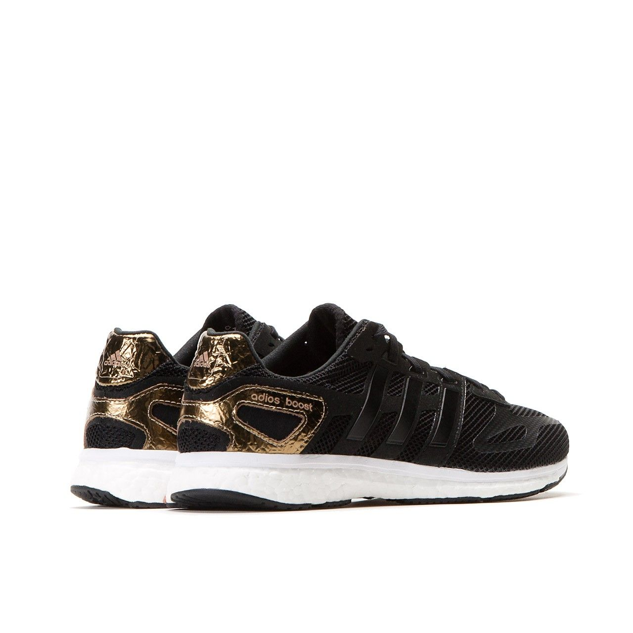 adidas adios boost black gold