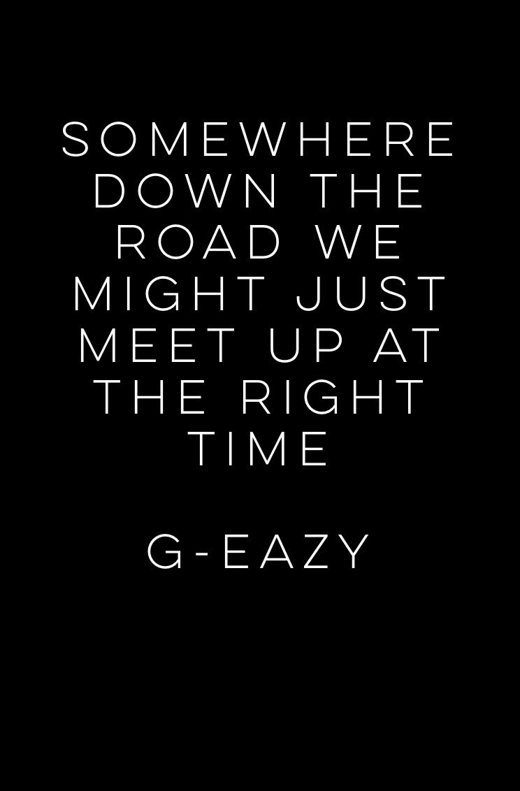 G Eazy Quotes Randomness Quote