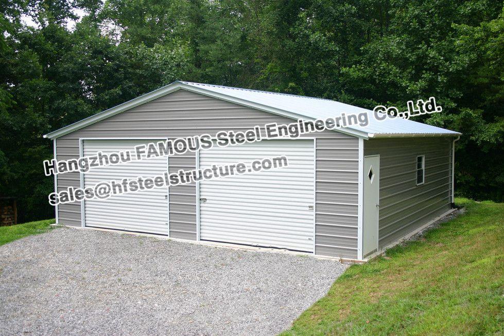 Estructura de acero prefabricados garaje para aparcar coches | Doors ...