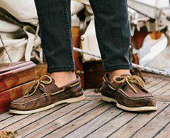 Shoe insoles, Boat shoes