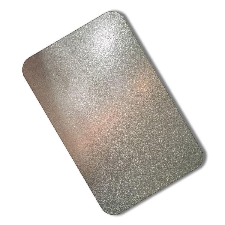 Sandblasted Stainless Steel From Foshan Sunray Steel Co Ltd Brand Sunray Steel Model Sr Sb0010 Grade 201 3 Stainless Steel Sheet Sandblasted Stainless Steel