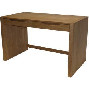 Buy Butler Wooden Home Office Desk With Drawers Oak Veneer At