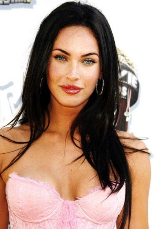 Famous Women With Jet Black Hair Color Jet Black Hair Hair Color For Black Hair Megan Fox Hair