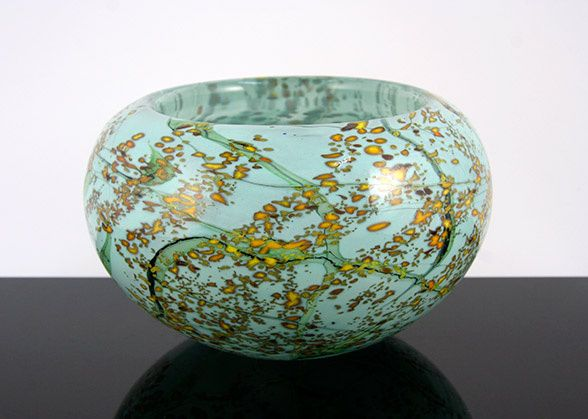 Mimosa, Small Thick Bowl by Peter Layton