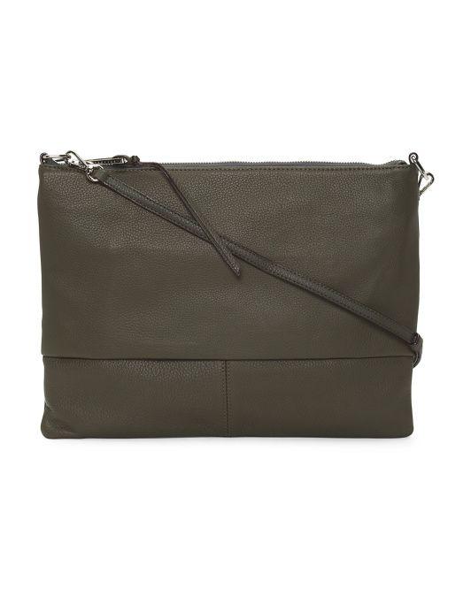 874ff81e94ac Sanctuary Tasseled Leather Crossbody in Olive. TJ Maxx. $49.99 ...