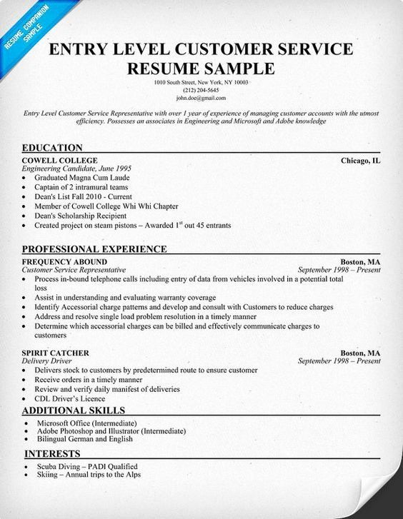25 customer service qualifications resume in 2020