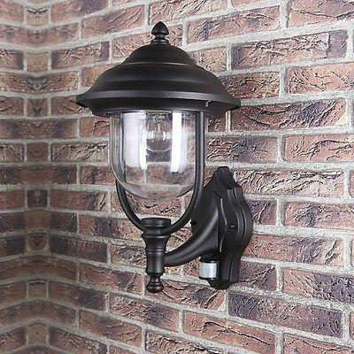 aussenwandleuchte wandlampe bewegungsmelder au en lampe leuchte sensor neu aussenleuchte. Black Bedroom Furniture Sets. Home Design Ideas