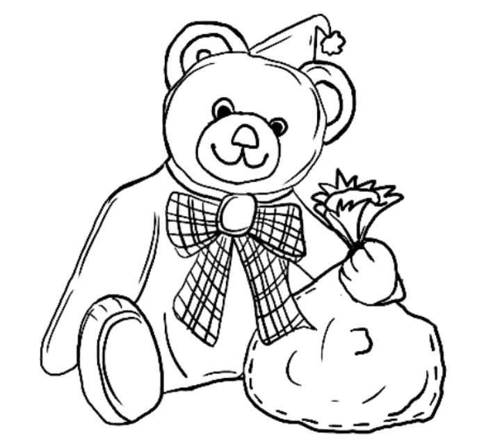 Teddy Bear Merry Christmas Coloring Page Christmas Coloring Pages Kids Merry Christmas Coloring Pages Christmas Coloring Pages Christmas Tree Coloring Page