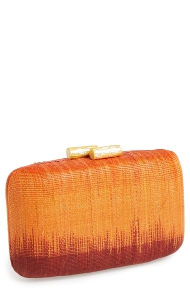 Kayu 'Ikat' Minaudière available at #Nordstrom $175 http://shop.nordstrom.com/s/kayu-ikat-minaudiere/3728730?origin=category-personalizedsort&contextualcategoryid=0&fashionColor=&resultback=453&cm_sp=personalizedsort-_-browseresults-_-1_2_C
