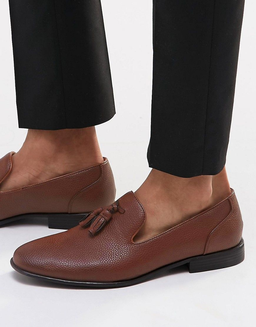 2fe1bc9517e ASOS Tassel Loafers in Tan - Tan