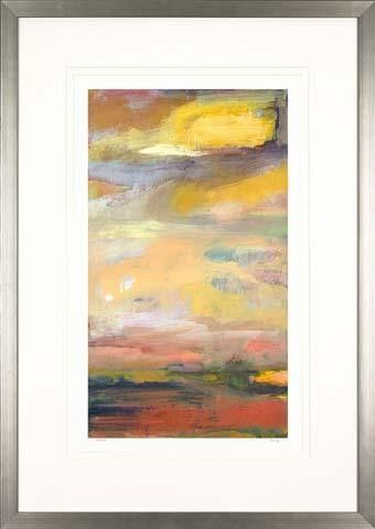Abstract Landscapes By Mark Fetty Framed Painting Print