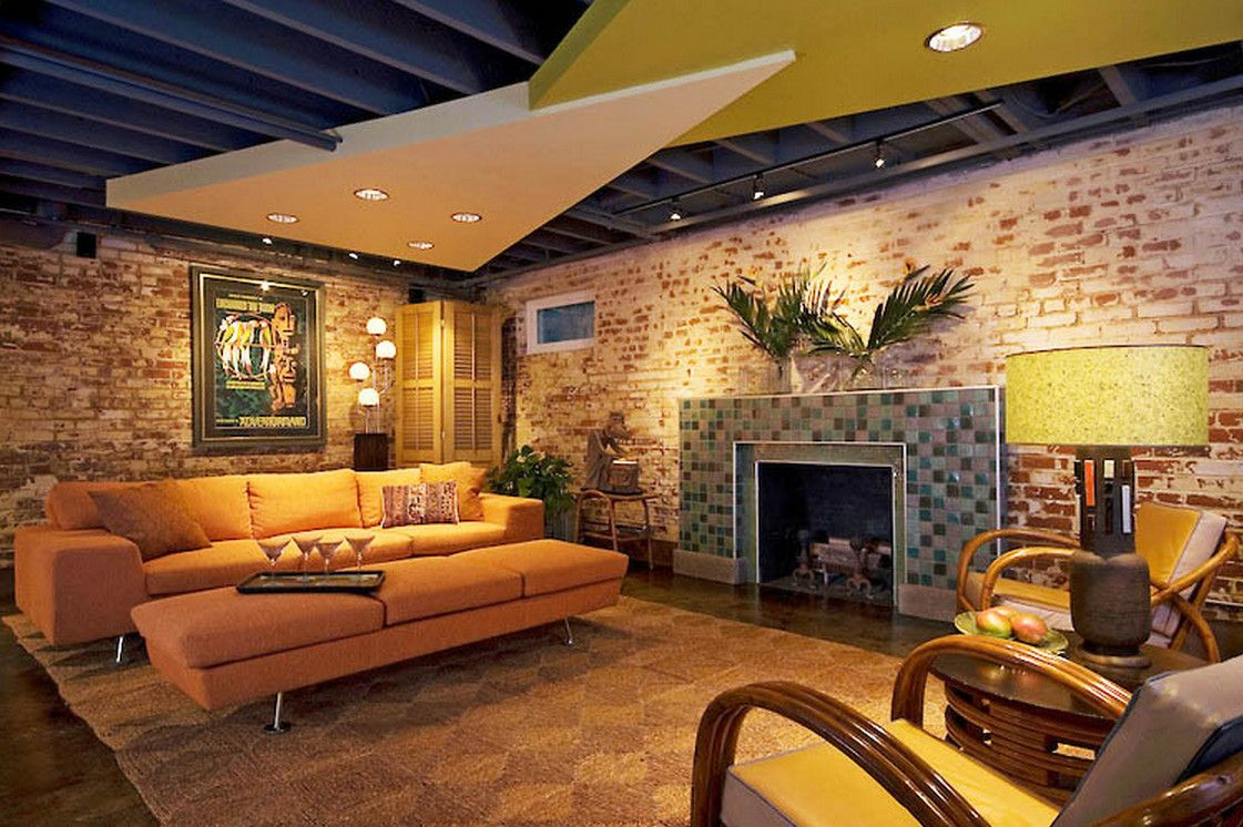 Wunderbar Basement Ceiling Ideas Pictures
