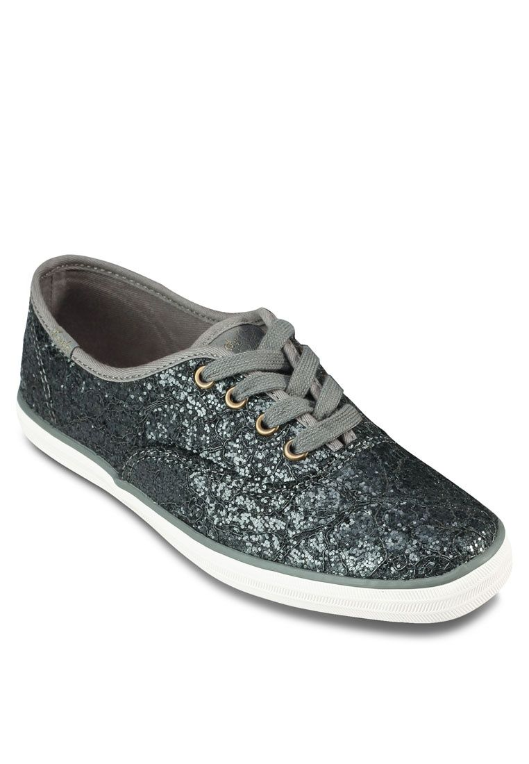 fe6aaf4e03202 Buy Keds Champion Glitter Lace Sneakers