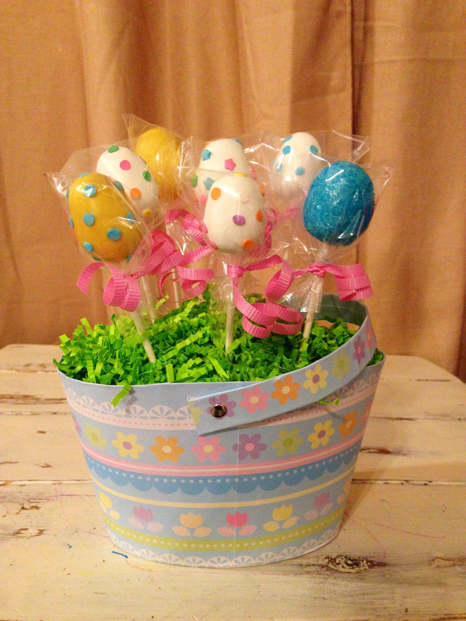 Easter egg cake pop display easter cake pops cake pop