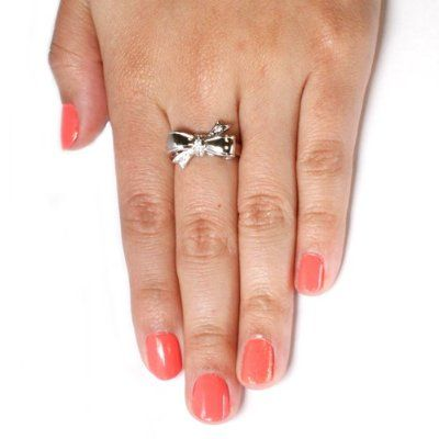 Cute bow ring on amazon.com