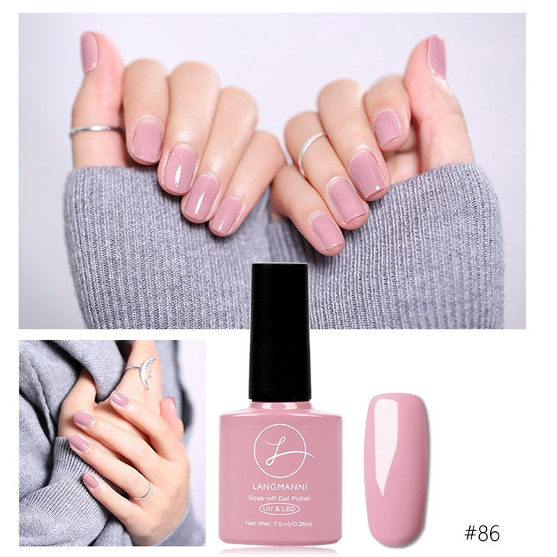 Princess Pink Nail Gel Polish Soak Off Uv Gel Colorful Long Lasting Nail Gel Varnish Diy Nail Art Long Lasting Nails Gel Nails Pink Nails