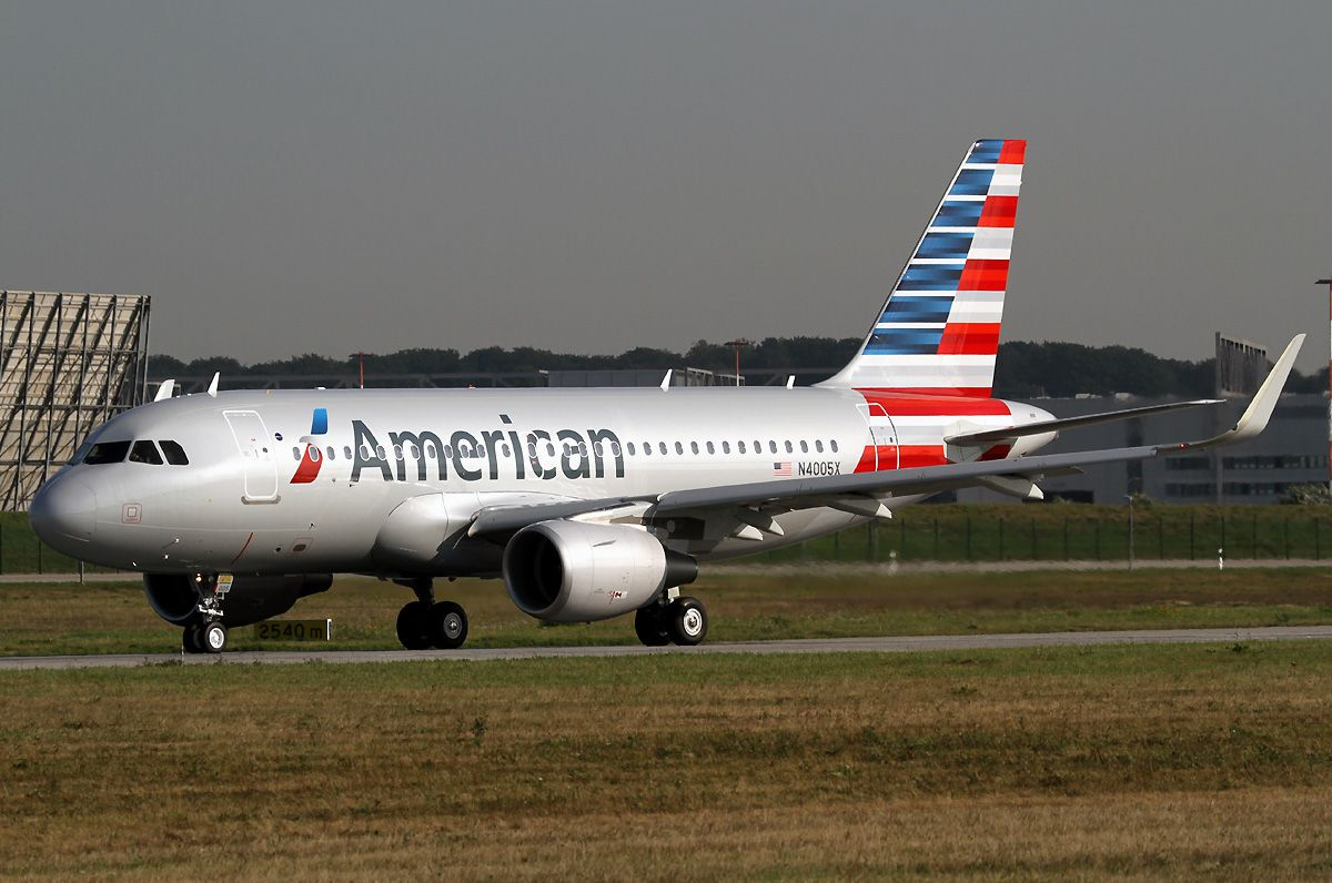 American Airlines Fleet Airbus A319100 Details and