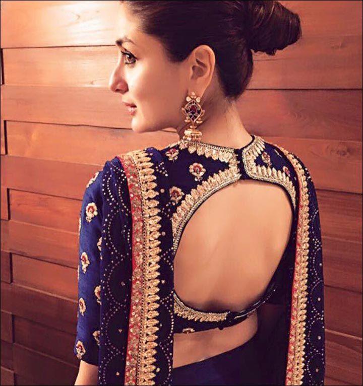 blouse back neck designs top 54 trendy designs saree pinterest