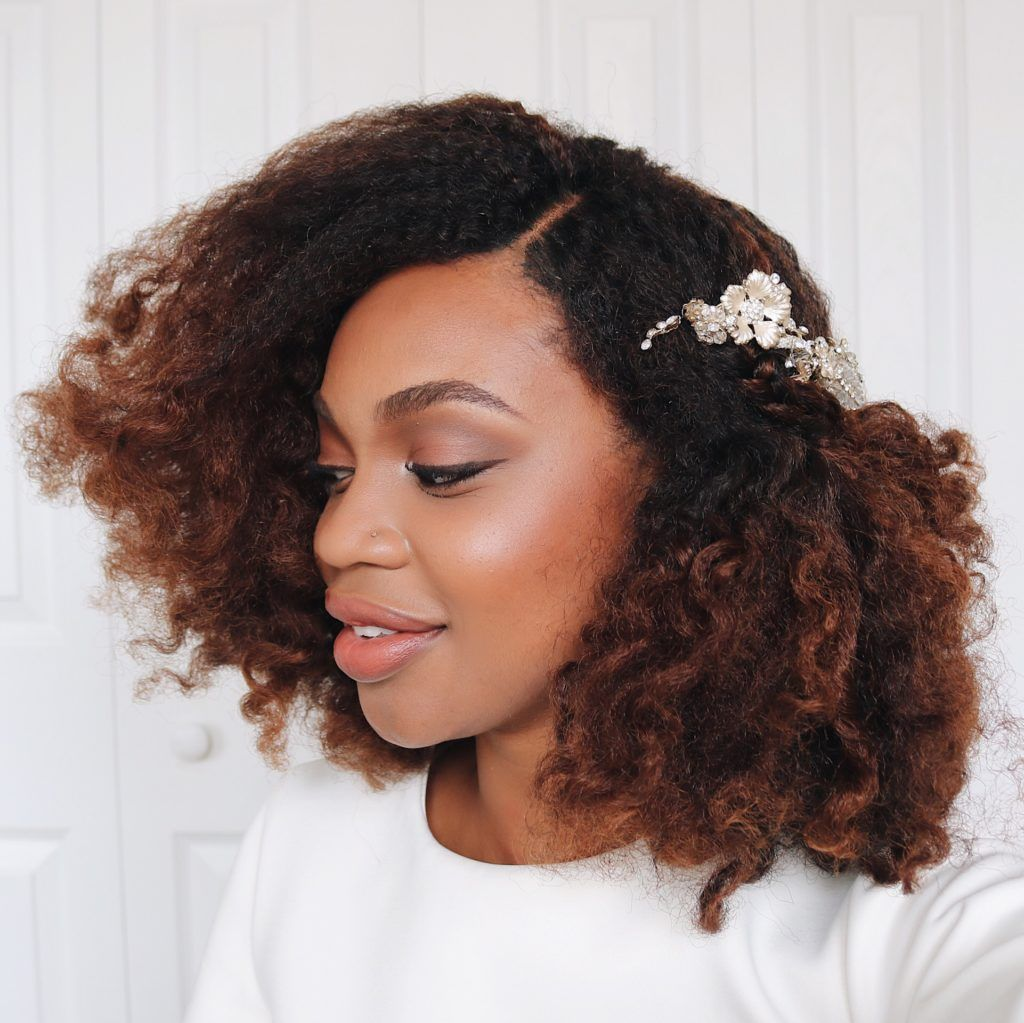 easy natural hairstyles for a bridal shower bachelorette