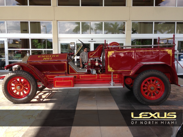 American LaFrance Fire Truck restoration by Lexus of North