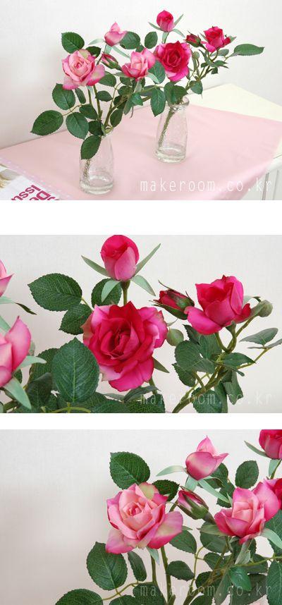 메이크룸 [유리병 장미(pink)]