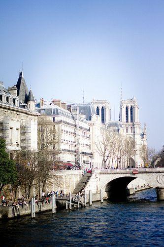 Spring time, Paris