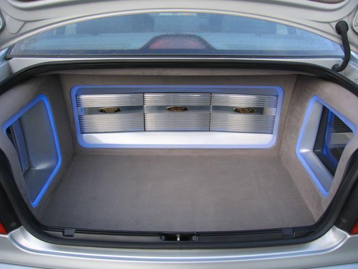 Audio trunk room... | Автомобиль, Колонки, Аудио |Stormtrooper Car Audio Custom Trunk Install
