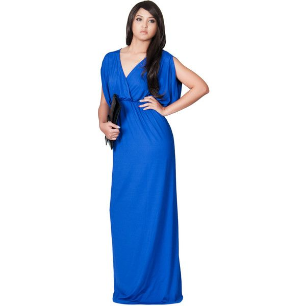 GCGMe Maternity Maxi Dress - Vneck Grecian Gown ($60 ...