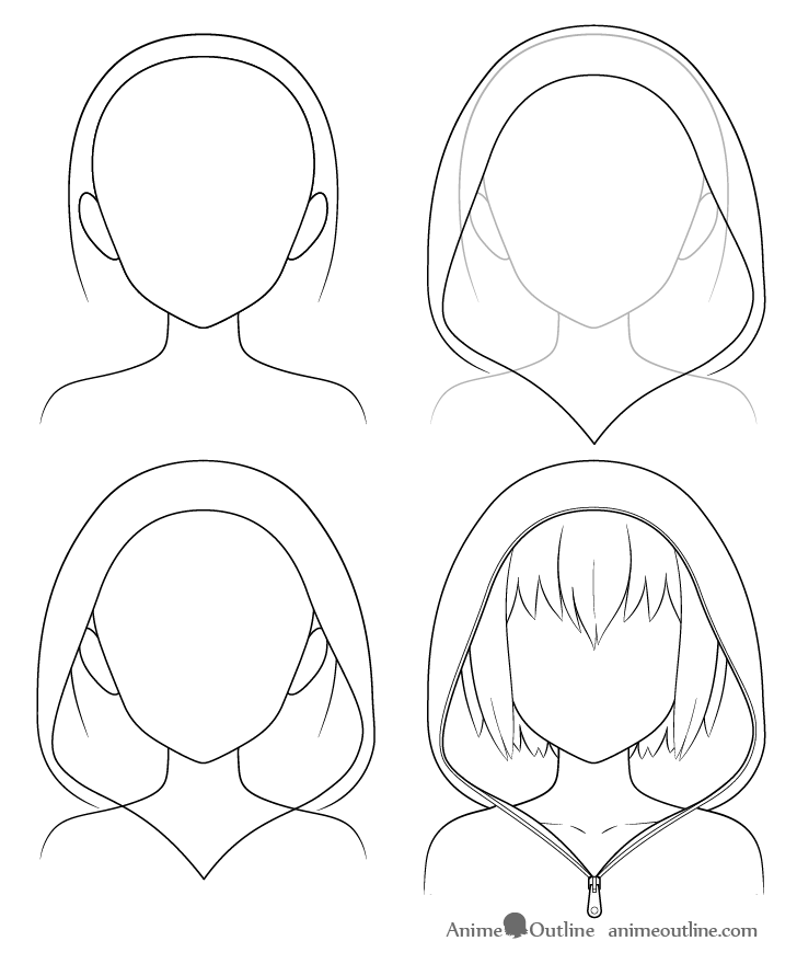 How To Draw Anime Hats Head Ware Animeoutline In 2020 Anime Drawings Tutorials Anime Drawings Sketches Anime Character Drawing