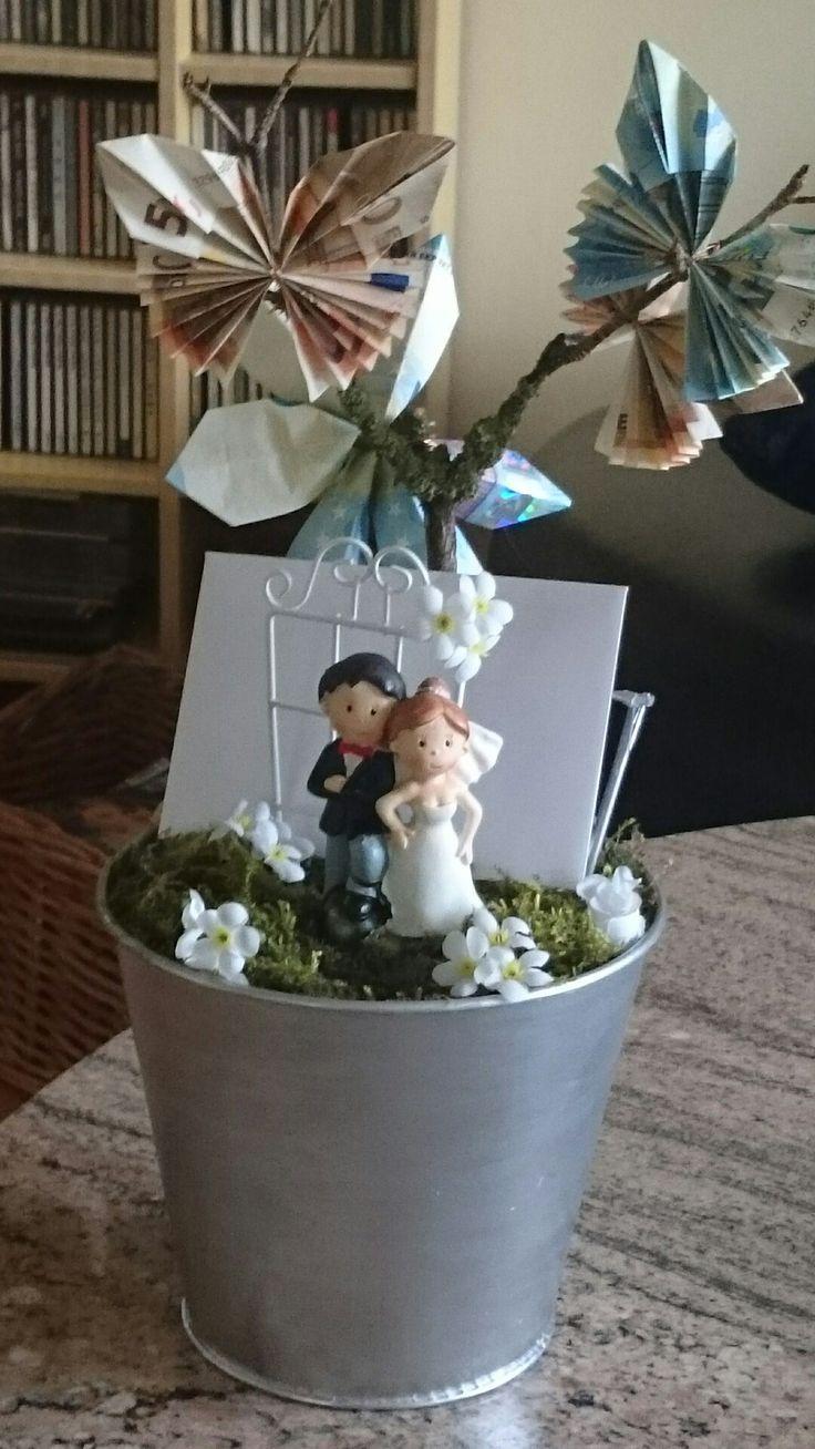 DIY Gifts And Wrap : Geldgeschenk zur Hochzeit – GiftsDetective.com | Home of Gifts ideas & inspiration for women, men & children. Find the Perfect Gift.
