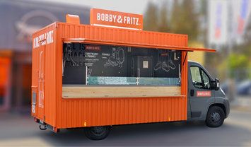 Roka Foodtruck Bobby Fritz Distinctive Color Low Cost Retrofitted Container Easy