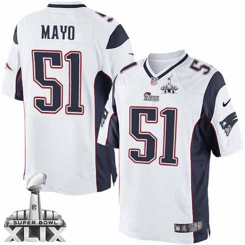 blue alternate mens stitched nfl new elite jersey new england patriots 51 jerod mayo 2015 super bowl xlix white game kids jersey nike new york jets