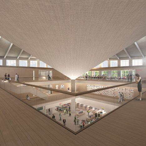 Superb Design Museum By John Pawson. Design Museum LondonArchitecture DesignMuseum  ArchitectureNew ...