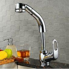 Gao Kitchen Sink Faucet Double Flower Shower Lift Basin Faucet