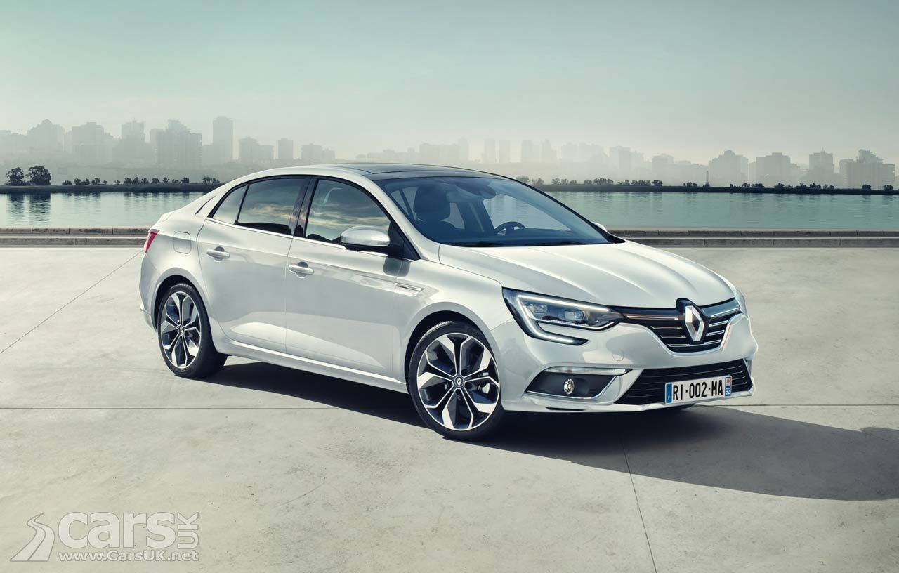 Renault Megane Saloon Arrives As The New Megane Grand Coupe But
