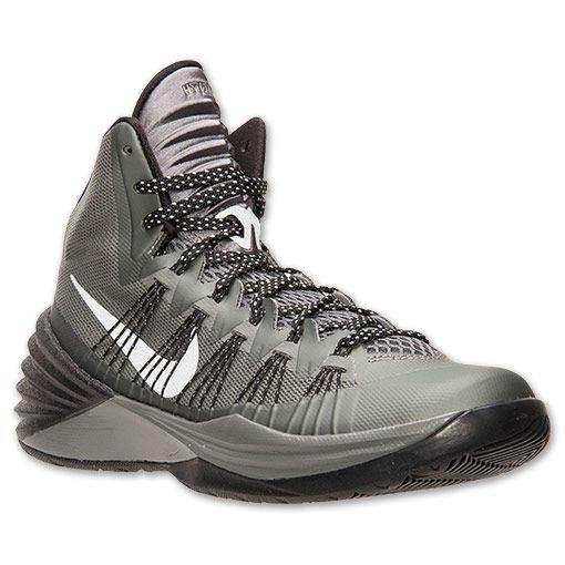 fcb1612f360e 50% off nike hyperdunk 2013 mercury grey black metallic silver eabf1 ...