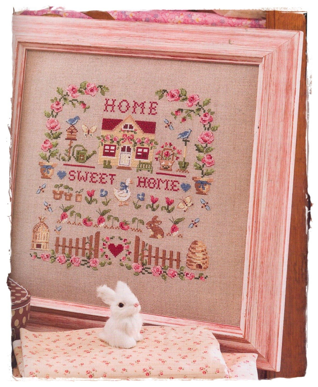 Handcraft Ana Paula: Home Sweet Home