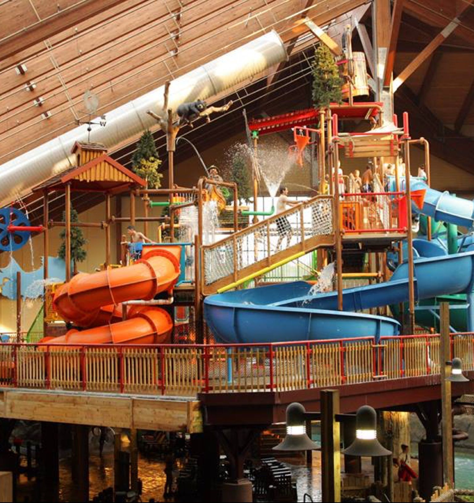 The Great Escape And Splashwater Kingdom Dream Vacations Indoor Waterpark Water Park