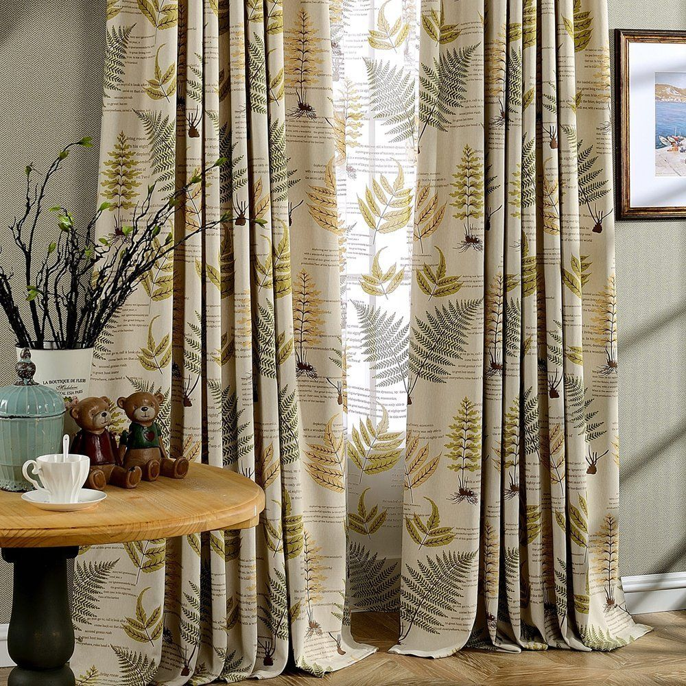 Home & Garden Shop For Cheap Luxury Embroidery Blackout Linen Curtain For Living Room Mirror Flower Pattern Window Curtains Drapes For Bedroom Environmental Window Treatments