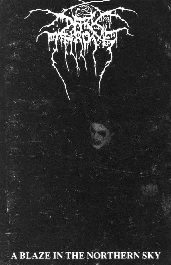 Darkthrone A Blaze In The Northern Sky Cassette Album At Discogs Black Metal Art Metal Music Bands Heavy Metal Art