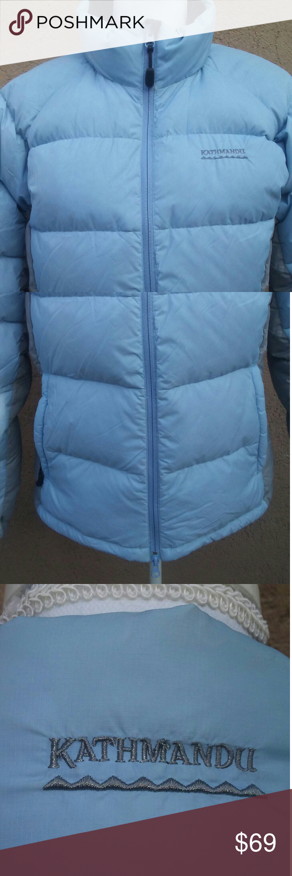 Kathmandu Sky Blue Down Puffer Jacket Size 12 Clothes Design Jackets Puffer Jackets [ 1740 x 580 Pixel ]
