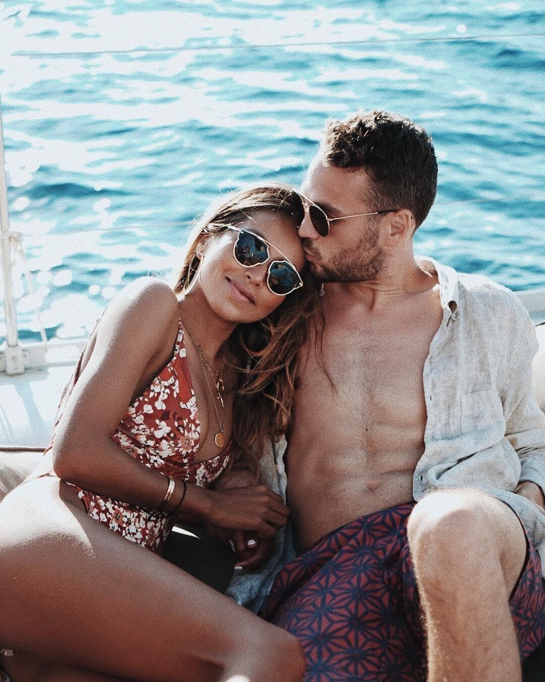 "JULIE SARIÑANA on Instagram  ""I luv u a yacht. ❤  kevinberruuu ... 22d51797239c"