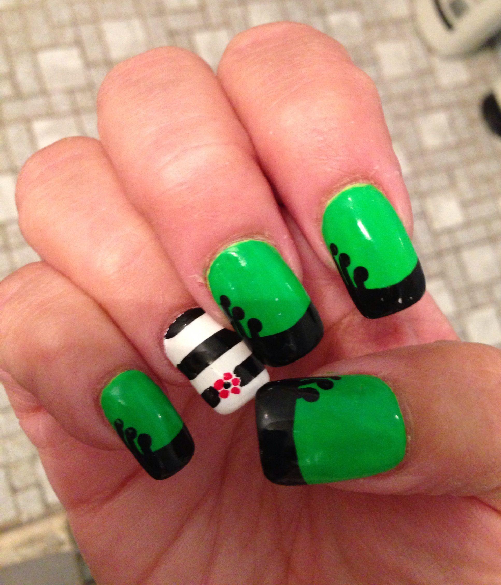 Wicked the musical nail art kl nail salon inc 31 avenue u wicked the musical nail art kl nail salon inc 31 avenue u brooklyn ny prinsesfo Images