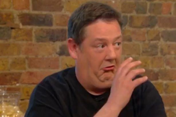 Ching-He Huang struggles to concentrate as hilarious Johnny Vegas cracks jokes about James Martin