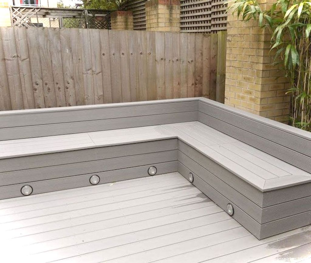 Gorgeous Outdoor Garden Furniture Ideas 9  Garden seating, Deck